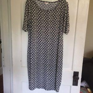 LulaRoe Julia dress XL worn 1x Perfect condition